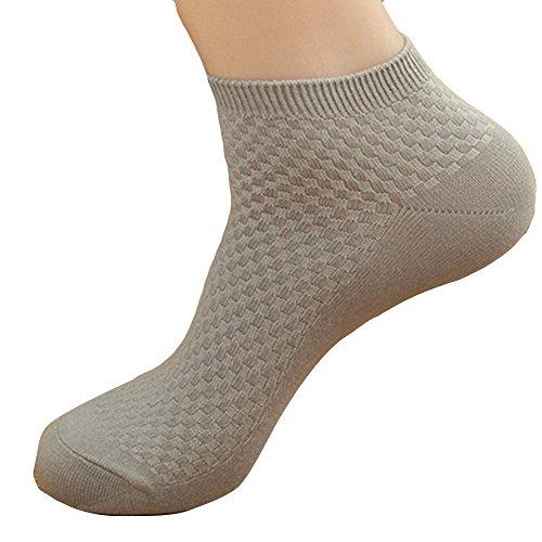 FOANA Bambus Socken Sneaker Socken für Damen & Herren I Bambussocken I Kurze Socken schwarz I Sneakersocken kurz I Socks I Socken gegen Schweißfüße