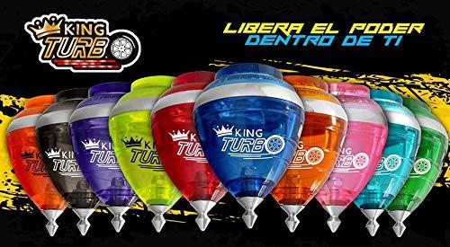 WorldWide- Trompo King Turbo, Multicolor (20253)