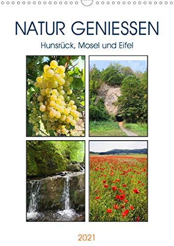 Natur genießen - Hunsrück, Mosel und Eifel (Wandkalender 2021 DIN A3 hoch)