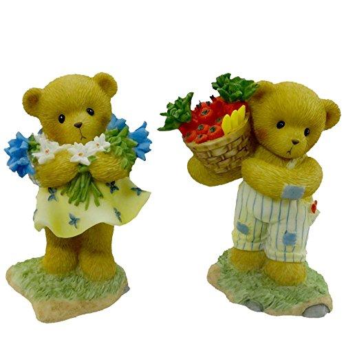 Cherished Teddies Jimmy und Akaila Teddy-Figuren