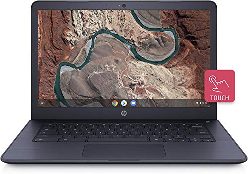 HP 14inch Touchscreen Chromebook AMD Dual-Core A4-9120 Processor, 4GB DDR4 Memory, 32GB eMMC Storage, AMD Radeon Graphics, Chrome OS-Gray(Renewed) (Touch/14inch/A49120)