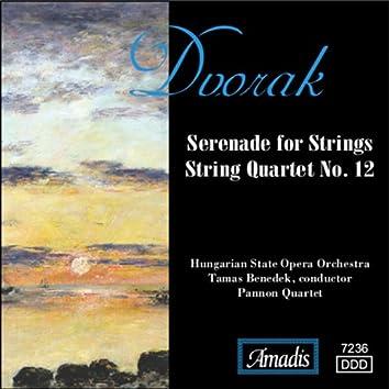 "Dvorak: String Quartet No. 12, ""American"" / Serenade for Strings"
