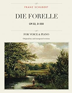 Die Forelle, op.32, D 550: Lied, For Medium, High and Low Voices