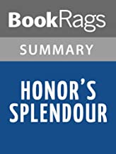 Summary & Study Guide Honor's Splendour by Julie Garwood