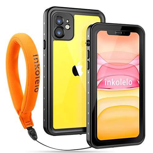 【Inkolelo】iPhone11 防水ケース 6.1インチ 全面保護 耐衝撃 フローティングスト…