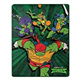Nickelodeon Teenage Mutant Ninja Turtles, Coming Out of The Shell Silk Touch Throw Blanket, 40' x 50'