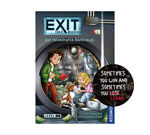 Exit Das libro - Libro de bolsillo y pegatina de salida (idioma español no garantizado)