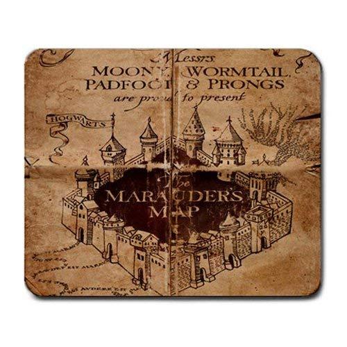 Azlure Harry Potter alfombrilla de mapa del merodeador alfombrilla de ratón