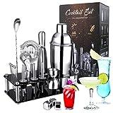 Cocktail Making Set,INPHER 21 PCS Cocktail Shaker Set