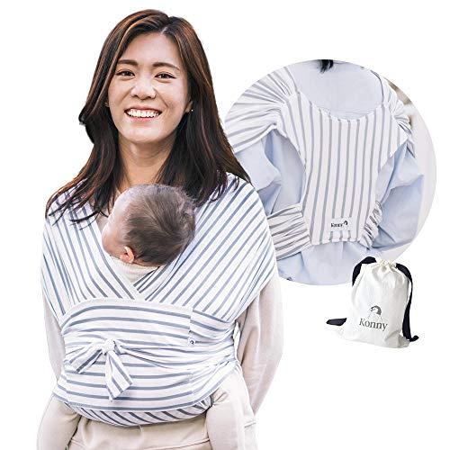 Konny Portabebés ultraligero, eslinga de envoltura para beb