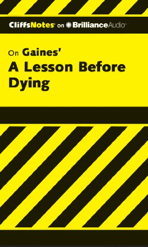 A Lesson Before Dying (CliffsNotes)