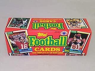 1990 Topps Football Factory Set Sealed Complete 528 Cards Joe Montana Art Monk