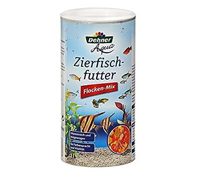 Dehner Aqua Zierfischfutter, Flocken-Mix, 1 l