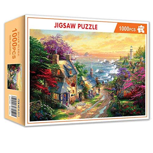YHYZ Rompecabezas de 1000 Piezas Space Puzzle DIY Juego de Creatividad para Adultos Juguete Niños Educativos Juegos para el hogar Juguetes-11