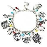 The Vampire Charm Bracelet - Diaries Bracelets Gifts Jewelry Merchandise For Women