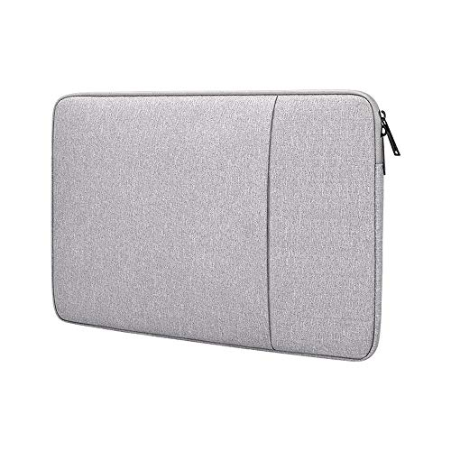 PINHEN 14-15.4 Inch Laptop Case Waterproof Laptop Sleeve - 14 Inch Case Notebook Case Protective Cover for MacBook Pro 15, Chromebook 14, Surface Book 2 3, HP Stream 14 (14-15 Inches, Grey)