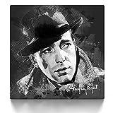 CanvasArts Humphrey Bogart Street Art - Leinwand Bild auf