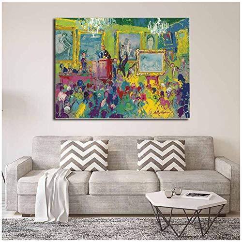 sjkkad Christie's Ist EIN Britisches Auktionshaus Leinwandbilder Bild Modulare Gemälde Für Wohnzimmer Poster An Der Wand Dekoration-60x80 cm Kein Rahmen
