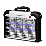 Concise Home Insect Killer UV light Attract to Zap Flying Insects Playing Excellent Role as Bug Zapper, Insect Killer, Fly Zapper, Fly Killer, Fly Swatter, Wasp Killer Sliver (20W)
