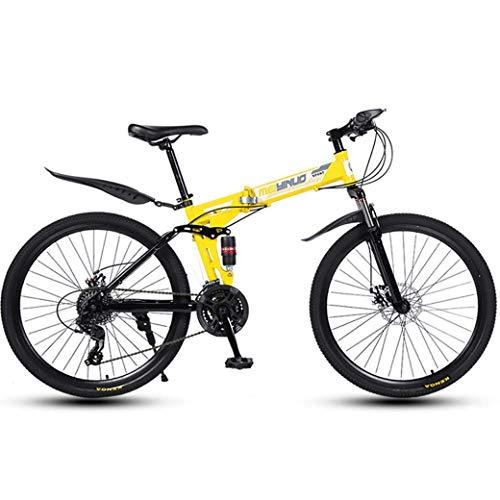Bicicleta De Montaña De 26 Pulgadas Y 24 Velocidades para Adultos, Cuadro...