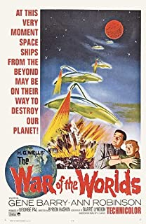 H.G Wells The war of the worlds #7 movie poster print