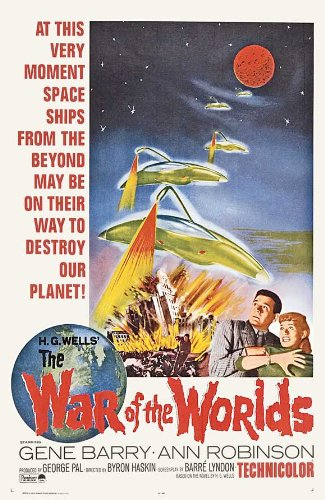 The War of the Worlds Poster Movie C 11x17 Gene Barry Ann (Robin) Robinson Les Tremayne Lewis Martin