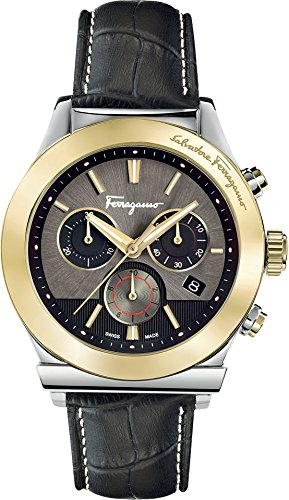 SALVATORE FERRAGAMO Herren analog Chronograph Uhr FFM120016