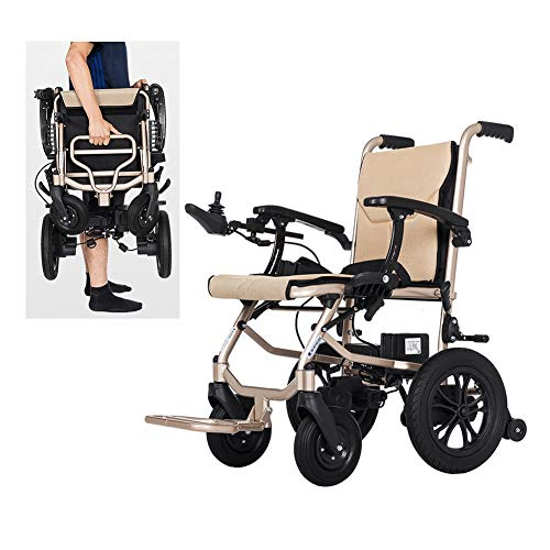 Affordable Electric Wheelchair, Foldable Electric Mobility Scooter, Fully Automatic 4 Wheels Power W...