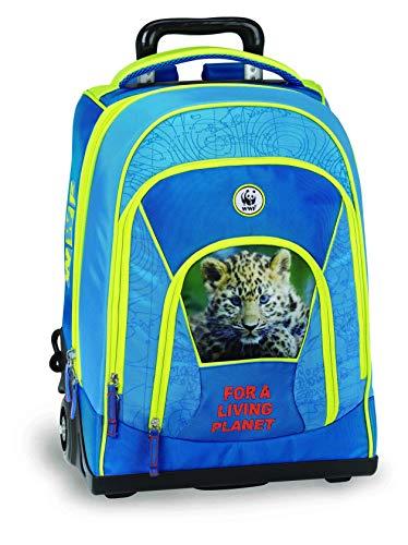 Zaino trolley WWF boy adventure 60332 scuola collezione 2019/2020