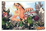 QTRT Serie Naruto Puzzle Madera, 1000pcs Animado en 3D de Dibujos Animados de Bricolaje Rompecabezas, Juego de descompresión for la Educación Diversión Juguete Regalo for la Familia Amigos