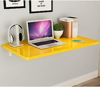 TELLMNZ Table à abattant Murale, Table à Manger de Cuisine Simple et Pliante, Bureau d'ordinateur, étagère Murale décorati...