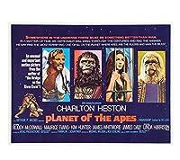 猿の惑星映画アートクラシックポスター絵の壁の装飾プリントキャンバス 60 × 90 センチメートルなしフレーム