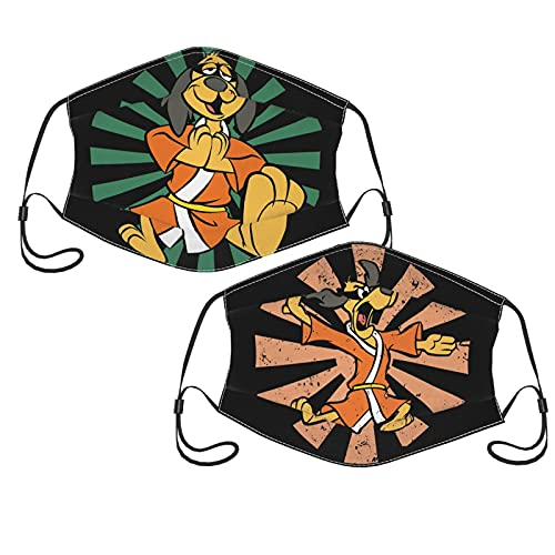 Hong Kong Phooey Adult Comfort Facepiece Reusable Face Mask with Filters - Adjustable (2-Pack) With 6 Filter One Size
