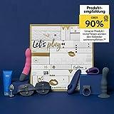AMORELIE Erotischer Adventskalender 2020 -Gold Edition- Wert 750€, 24 Sex Toys für Paare, Pärchen Erotik Advent-Kalender
