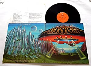 Boston DON'T LOOK BACK - Epic Records 1978 - USED Vinyl LP Record - Jacksonville 1978 Pressing (Wally In Deadwax) Feelin' ...