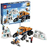 LEGO 60194 City Arctic Expedition Arctic Scout Truck Toy with Explorer Minifigures, Animal Figures and Snow Bike, Vehicle Toys for Kids 7-12 Years Old