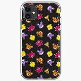 Compatible con iPhone Samsung Xiaomi Redmi Note 10 Pro/Note 9/8/9A/Poco M3 Pro/Poco X3 Pro Funda Chica Pattern Five Games Bonnie Nights FNAF Foxy Video Cajas del Teléfono Cover