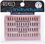 Ardell DuraLash Naturals Flare Individual Lashes, Short Black 56 ea (Pack of 2)