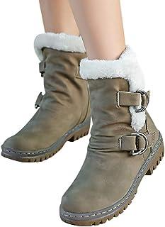 031b832c MYMYG Botas de Nieve para Mujer Black Friday Botas de Nieve Mujer Botines  de Mujer Zapatos
