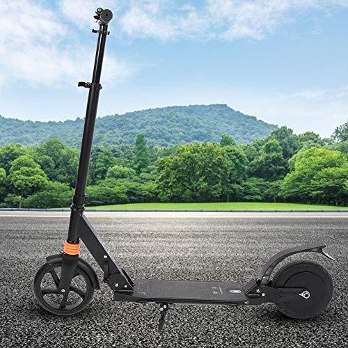 Scooter Eléctrico, Scooter Motorizado Plegable de Aleación Aluminio 8 Pulgadas 180W 18...
