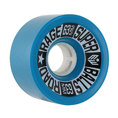Earthwing Wheels Road Rage 63mm 81A Blue