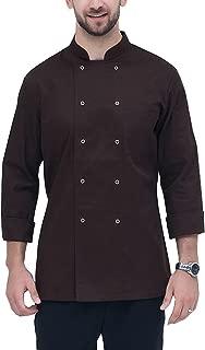 brown chef coat