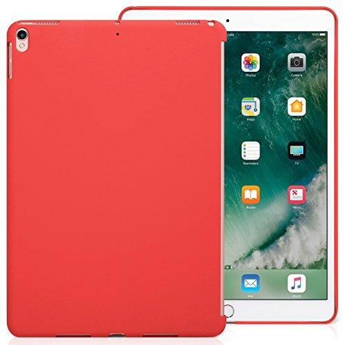 KHOMO Funda iPad Air 3 10.5 (2019) / iPad Pro 10.5 (2017) Carcasa Trasera Ultra Delgada y Ligera Compatible con Smart Cover - Rojo