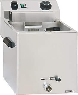 Casselin ccapv1g–Cocedor de pasta eléctrica válvula de drenaje con–1cesta