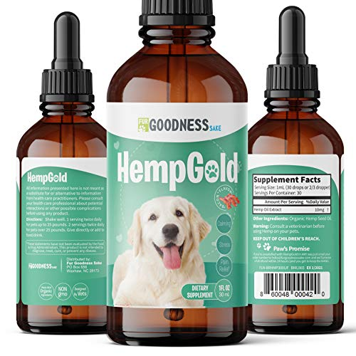 Organic CBD HempGold by OmegaPet