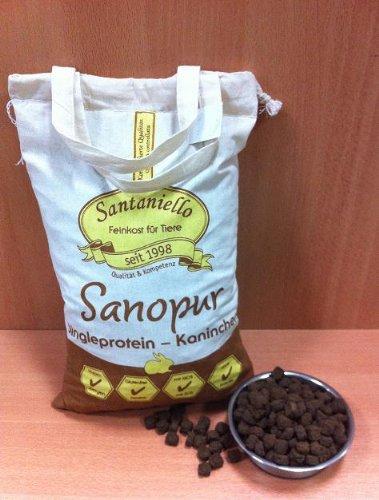 Sanopur getreidefreies Alleinfuttermittel (Singelprotein) / 4 kg Sack