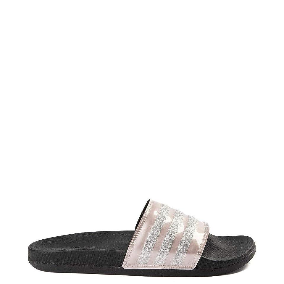 シャー降伏なめらかな[adidas(アディダス)] レディース靴?サンダル Adilette Comfort Slide Sandal アディレットコンフォート Rose Gold [並行輸入品]