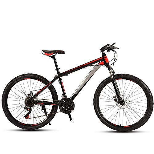 Mountain Bike, Adult Off Road Men and Women Speed Road Sports Car Teenagers Student Bicycles 24inchs 30speed