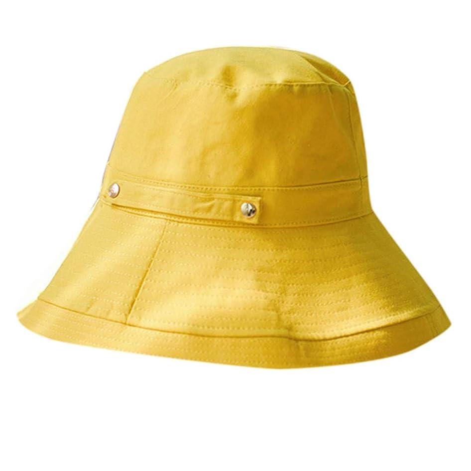 解釈的必要とする宣教師女性の春と夏の無地のコットンキャップ 漁師の帽子 漁師帽 UVカット帽子 レディース つば広 ハット アウトドア ファッションビッグバイザー 釣り帽子 漁師キャップ UVカット ハット レディース 日よけ 男女兼用 ROSE ROMAN