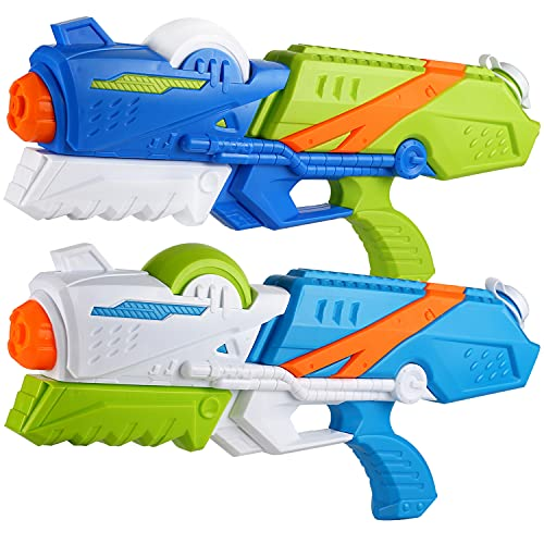2 Pack Large Water Gun(16.5 inch), High Capacity&30-35 Feet Shooting...